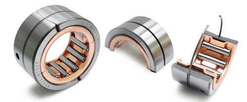 needle roller bearing / single-row / steel / split