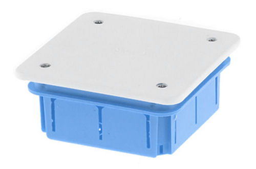 flush-mount junction box / waterproof / plastic / with knockouts