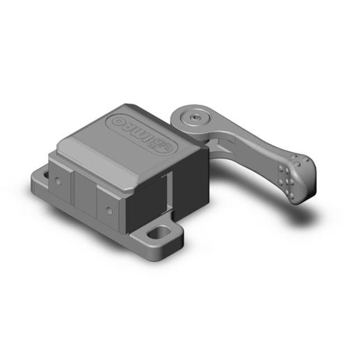 cam-operated clamp / steel / single-acting with return spring / light