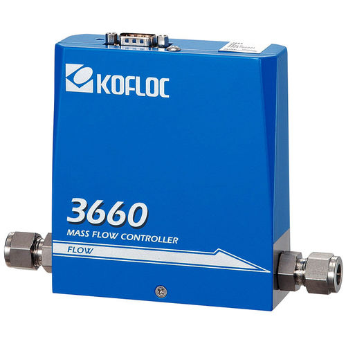 thermal mass flow controller / for gas / compact / cost-effective