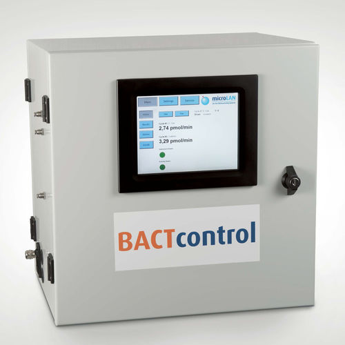 water analyzer / IP54 / with touchscreen / online