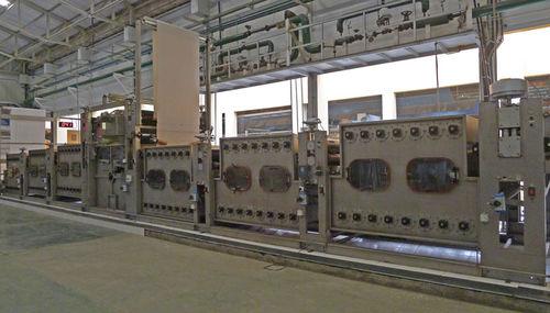 continuous washing machine / process