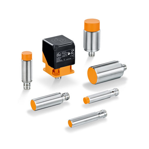 proximity sensor with IO-Link interface / inductive / threaded cylindrical / rectangular