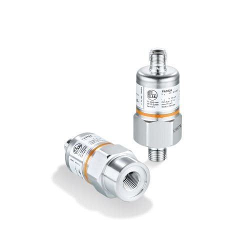 relative pressure transmitter / analog output / threaded / compact