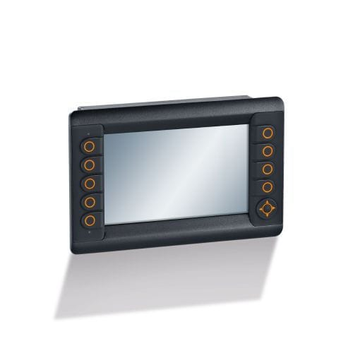 monitoring HMI / with touch screen / with keyboard / panel-mount