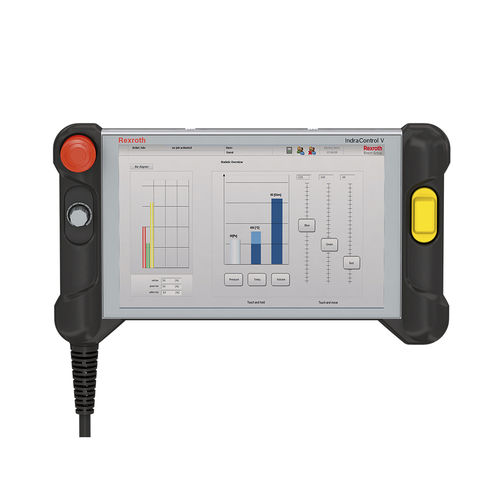 operator terminal with touch screen / panel-mount / 1280 x 1024 / ARM Cortex