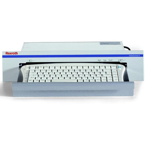 desktop keyboard / with mechanical keys / without pointing device / integrated