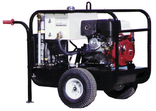 gas engine hydraulic power unit / for mobile applications / portable