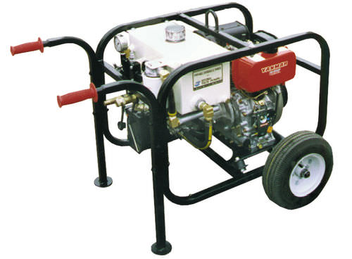 diesel engine hydraulic power unit / for mobile applications / portable