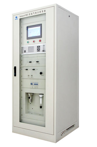 oxygen analyzer / carbon dioxide / flue gas / CO