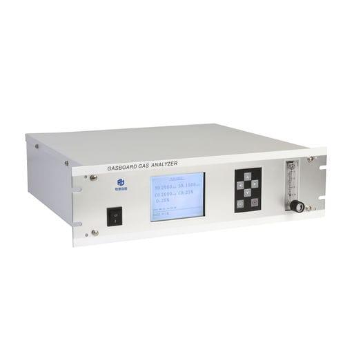 oxygen analyzer / carbon dioxide / flue gas / CO