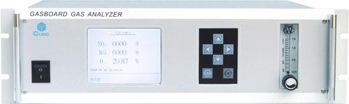flue gas analyzer / stack gas / carbon / sulfur