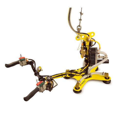 manipulator arm with suction cup