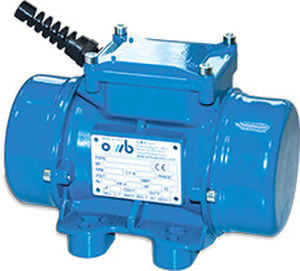 vibration motor with electric actuator / for concrete / rotary