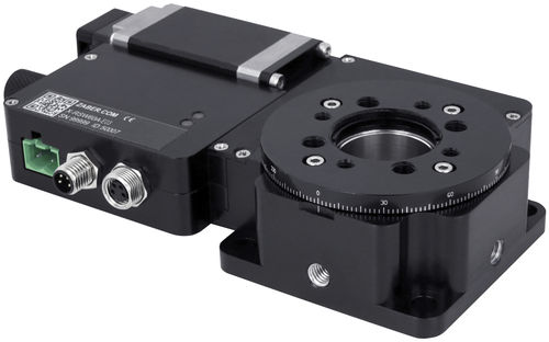 rotary table with stepper motor / horizontal / for turning / for metrology applications