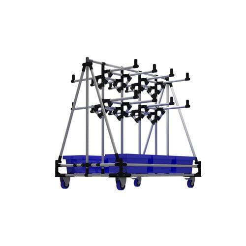 storage warehouse shelving / box / mobile / modular