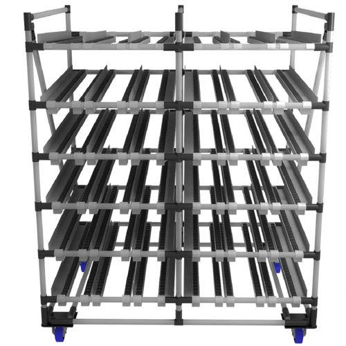 picking shelving / box / mobile / with shelves