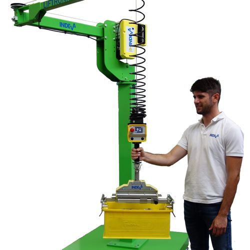manipulator with electronic control