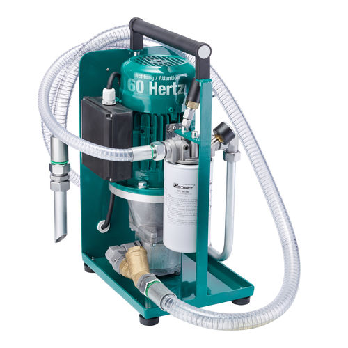 oil filtration system / mobile / compact