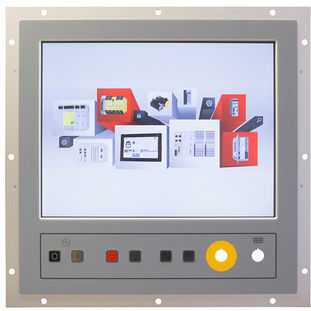 operating panel with touch screen / panel-mount / robust / IP65