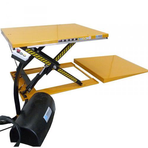 scissor lift table / hydraulic / stationary / loading