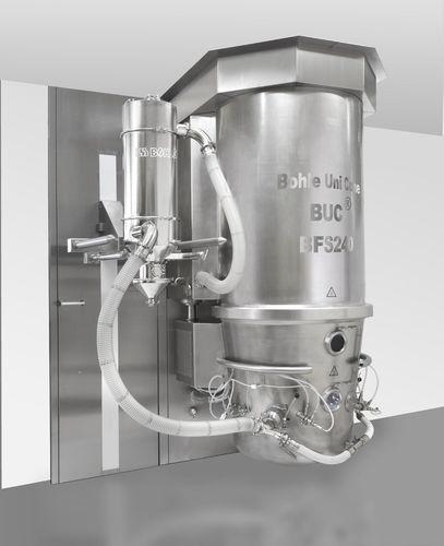 fluidized bed granulator - L.B. Bohle Maschinen + Verfahren GmbH