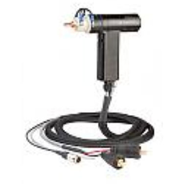MIG welding torch / air-cooled / with fume extraction