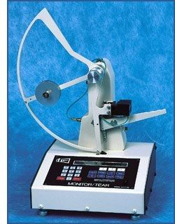 tear testing device / for films and thin products / automatic