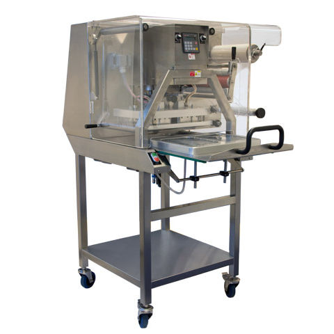 automatic packaging machine / manual / rotating / for the food industry