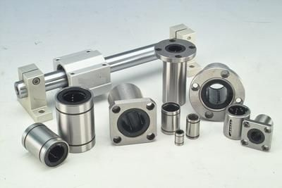 linear ball bearing / closed / open