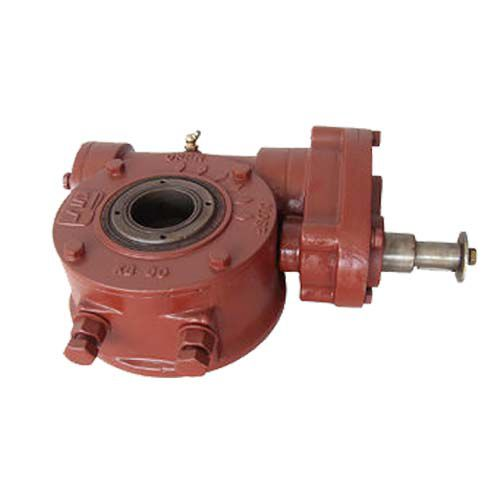 manual valve actuator / rotary / double worm / double-acting