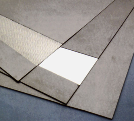 graphite gasket sheet / asbestos-free / flat