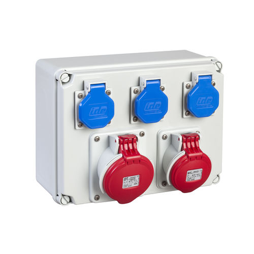 equipped electrical enclosure / wall-mounted / polystyrene / for low-voltage power distribution