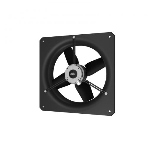 wall-mounted fan / axial / ventilation / compact