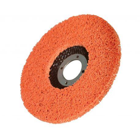 aluminum oxide abrasive disc / silicon carbide / for polishing / for deburring