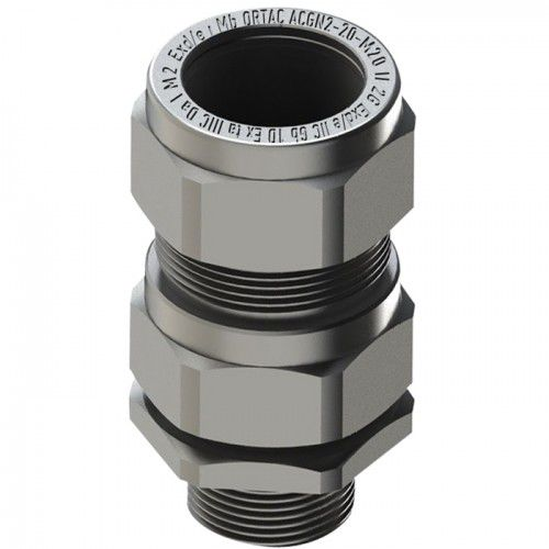 nickel-plated brass cable gland / stainless steel / aluminum / explosion-proof
