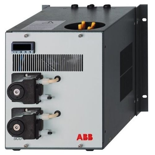 gas cooler / for samples / corrosion-resistant / compact