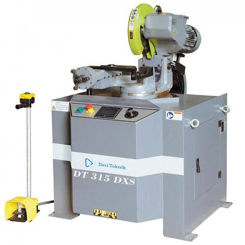 semi-automatic saw / circular / miter / for metals
