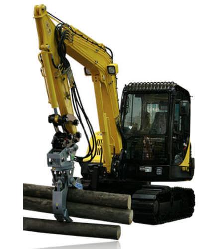 bunching grab / for excavators / wood