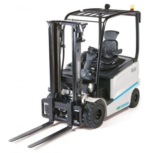 electric forklift truck / ride-on / handling / 4-wheel