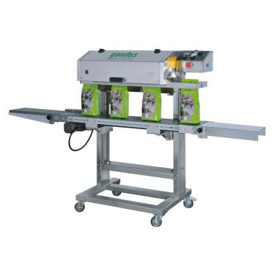 continuous heat sealer / automatic / packaging / for the pharmaceutical industry