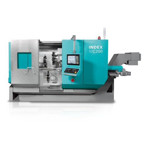 CNC turning machine / 3-axis / high-precision