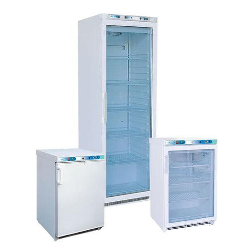 laboratory refrigerator / for blood banks / vertical / hermetic