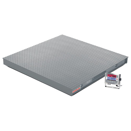 platform scale / floor / with separate indicator / stainless steel