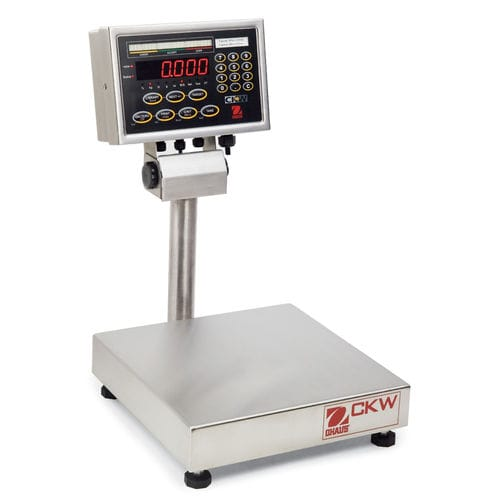 platform scale / with LED display / stainless steel / IP67