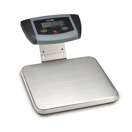 platform scale / benchtop / with LCD display / stainless steel