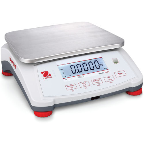 benchtop scale / precision / compact / with LCD display