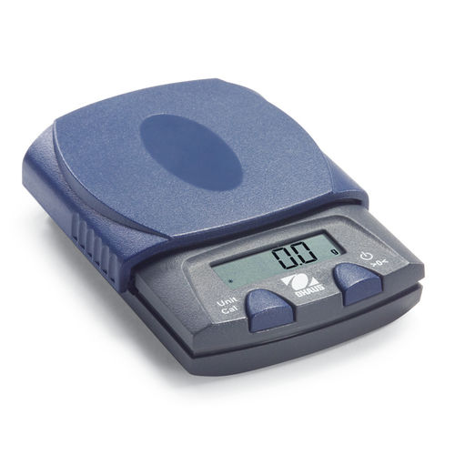 laboratory scale / with LCD display / portable