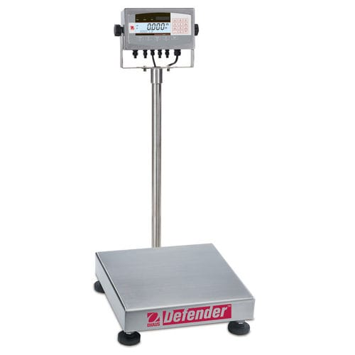 washdown scale / platform / with LCD display / stainless steel