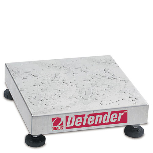 platform scale / with separate indicator / stainless steel / washdown